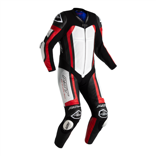 RST Pro Series Airbag One Piece Leathers Motorcycle Motorbike 2520 Red CE AAA