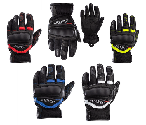 RST Urban AIR 3 Motorcycle Summer Mesh Gloves Short Cuff 2673 Ce Touch Screen