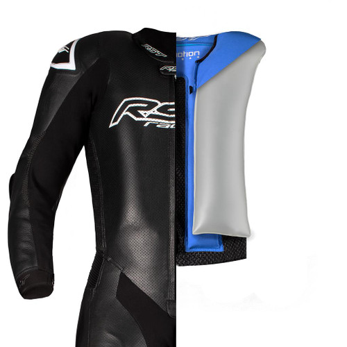 RST Airbag V4.1 Kangaroo Leathers Youth Superteen Motorcycle One Piece Race Dept