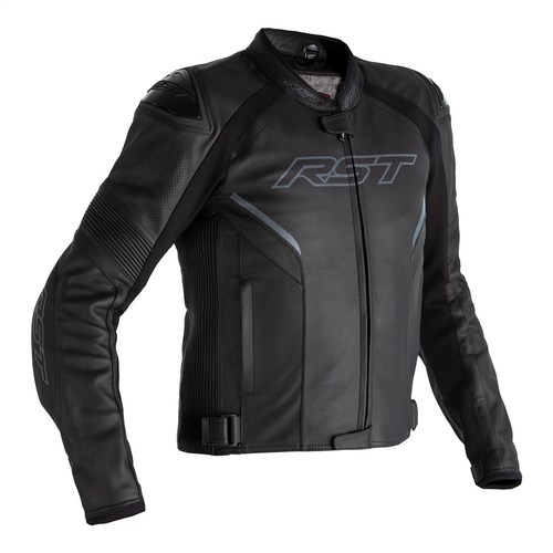 RST Sabre Airbag Motorcycle Motorbike Jacket Leather Sports Black CE AAA 2529
