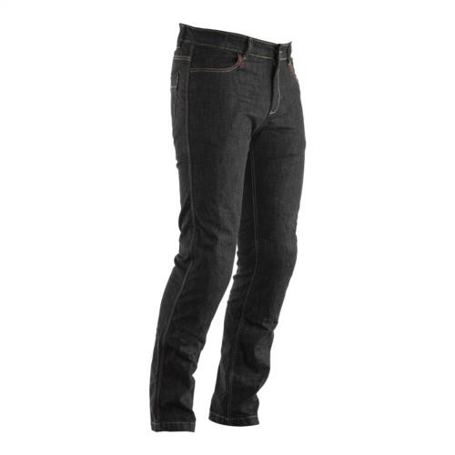 RST Straight Leg Motorcycle Jeans Made with Kevlar CE Approved Knee Armour Black