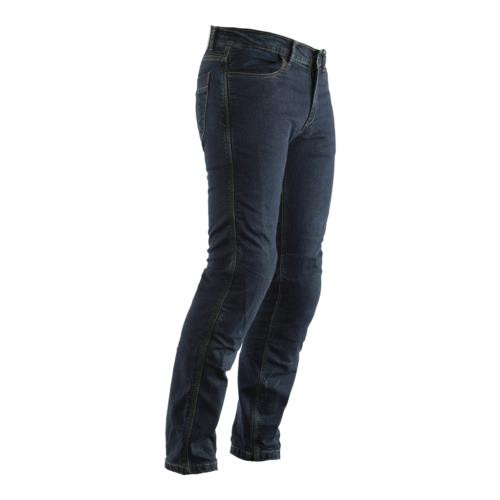 RST Straight Leg Motorcycle Jeans Made With Kevlar CE Approved Knee Armour Blue