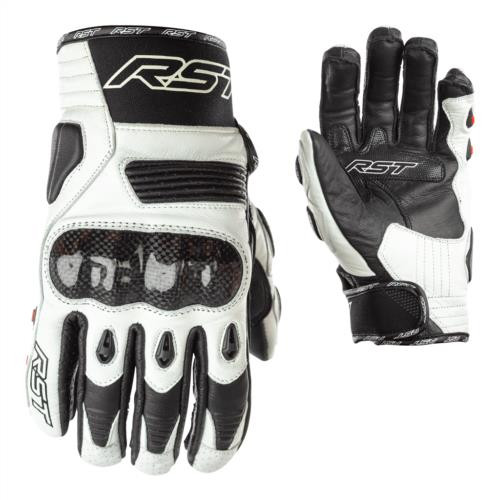 RST 2705 Freestyle Motorcycle Gloves White Short Ce Approved Next Day Delivery