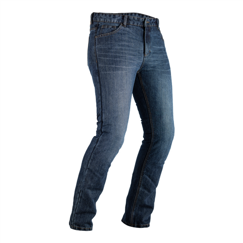RST made with Kevlar CE Mens Single Layer Jeans Industrial Blue Short Leg-2620