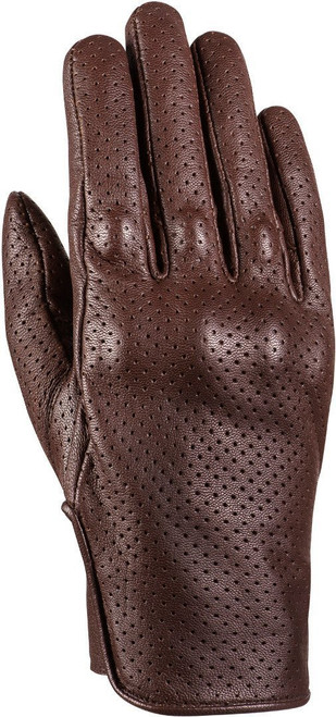 Ixon Cruise Air 2 Leather Motorcycle Classic Style Gloves Brown