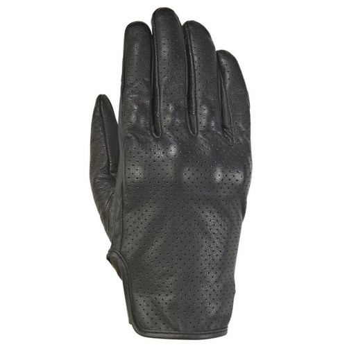 Ixon Cruise Air 2 Leather Motorcycle Classic Style Gloves Black