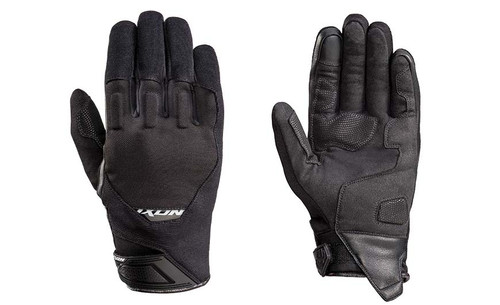 Ixon RS Spring Motorcycle Short Cuff Gloves Black SALE L
