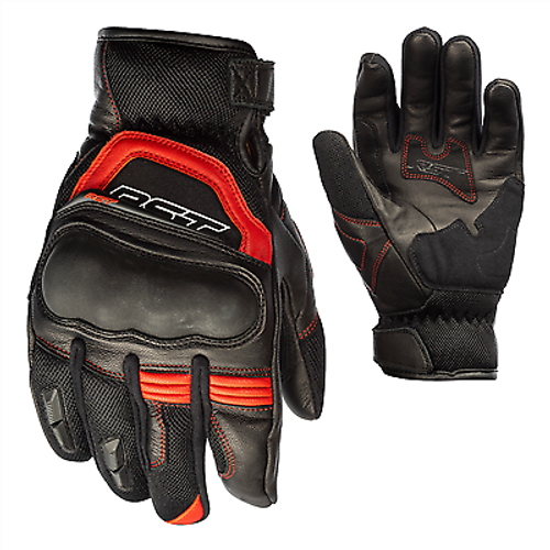 RST Urban AIR 2 Motorcycle Summer Mesh Gloves Short Cuff Red 2714 Ce Approved