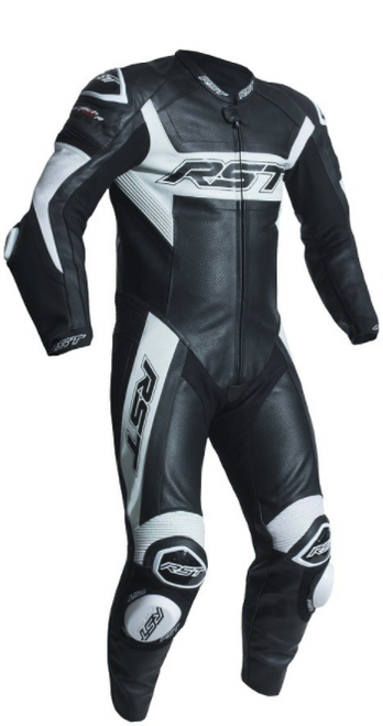 RST 2054 Tractech Evo R Motorcycle Leather One Piece Suit White Latest Model