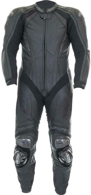 RST Black Series 2 One Piece Leather Motorcycle Race Suit 1042 Save £200 UK 48