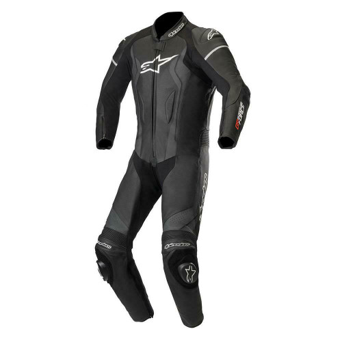 Alpinestars GP Force Leather Motorcycle One Piece Suit Black