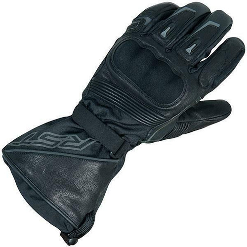 RST Paragon CE Approved 2266 Ladies Waterproof Motorcycle Textile Gloves Black