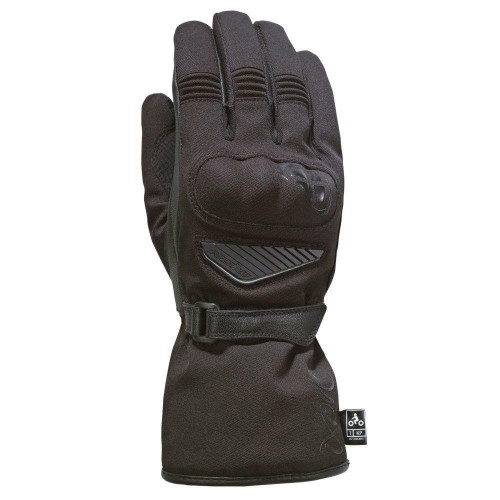 Ixon Pro Arrow Lady Motorcycle Gloves Waterproof Breathable Textile Black