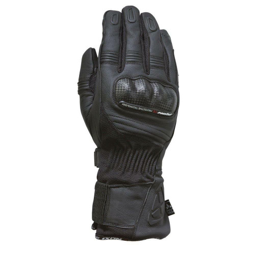 Ixon RS Prime Motorcycle Gloves Waterproof Breathable Textile Black