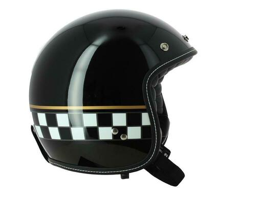 AGV RP60 Cafe Racer Open Faced Motorcycle Helmet Size XS Black LAST SIZE