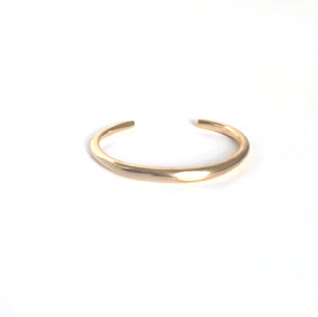 Divine Gold Cuff Bracelet, Handcrafted Gold Plated Brass Cuff Bracelet