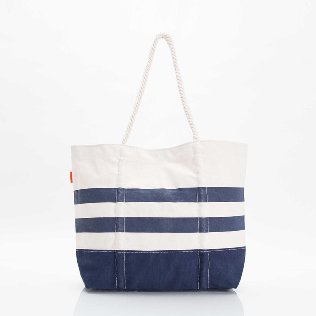 Maritime Tote Bag, Canvas Beach Bag