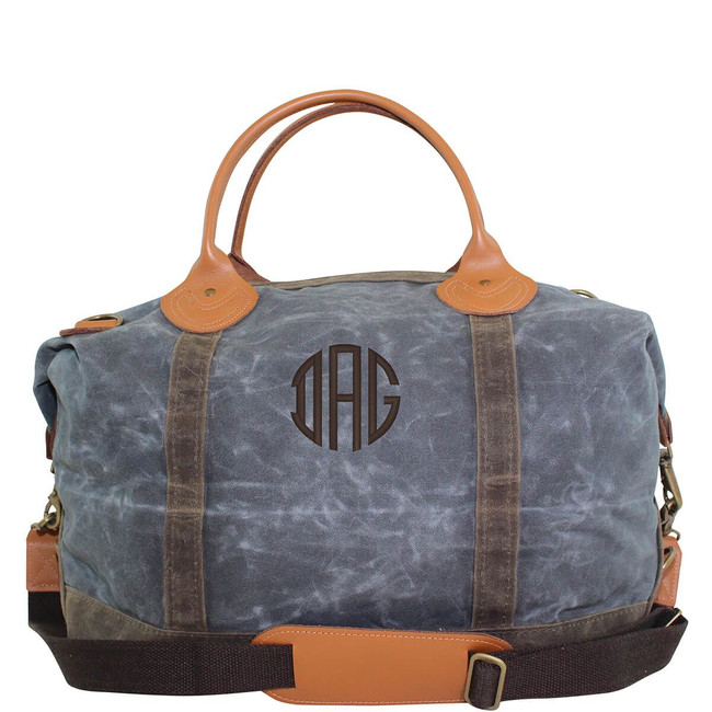 Waxed Canvas Weekender Bags, Travel Shoulder Bag