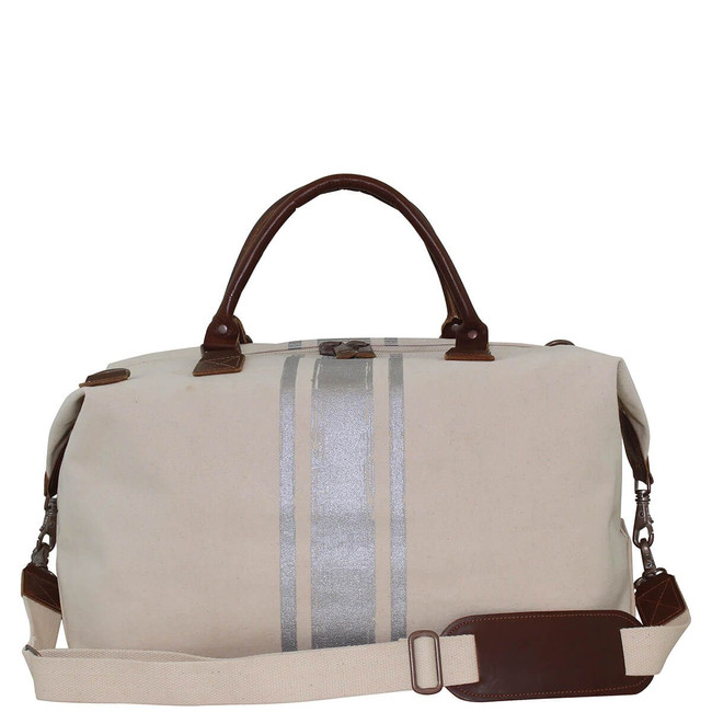 Brushed Canvas Weekender Bag