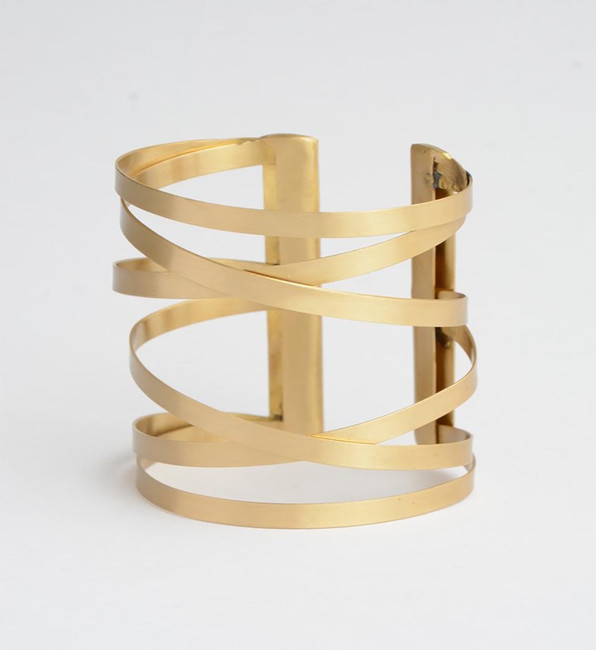 Crisscross Cuff