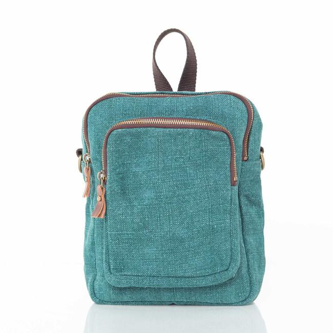 Jute Mini Backpack