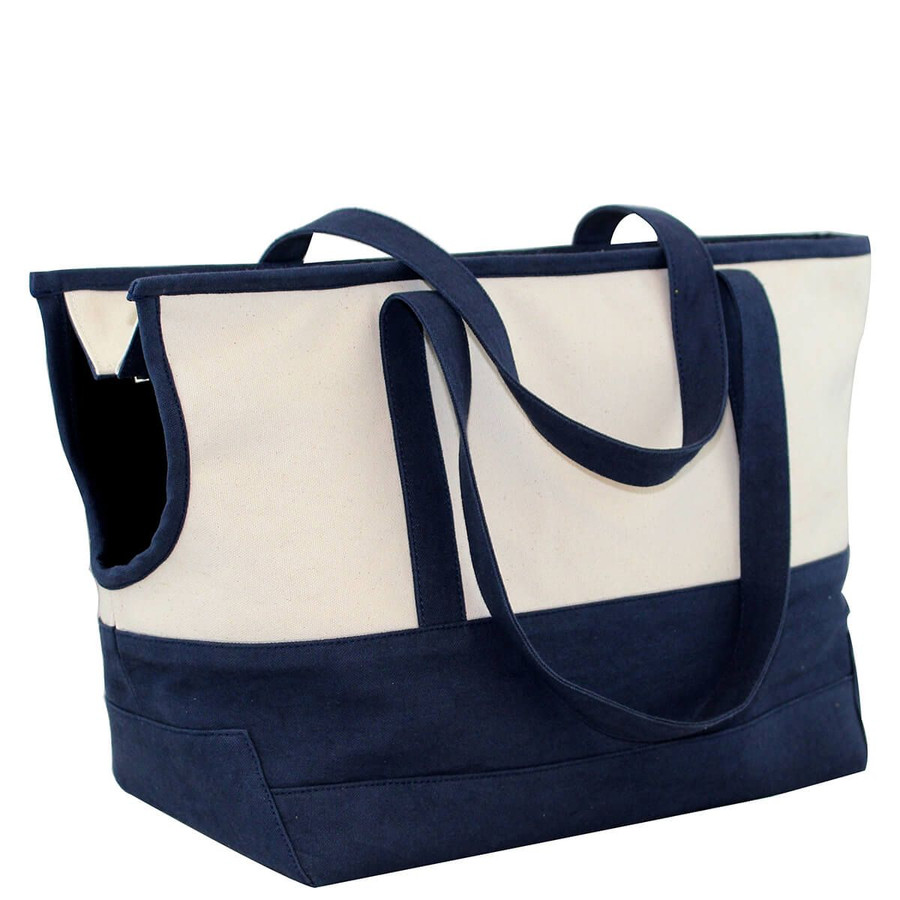 Canvas Pet Carrier, with Cushion lining