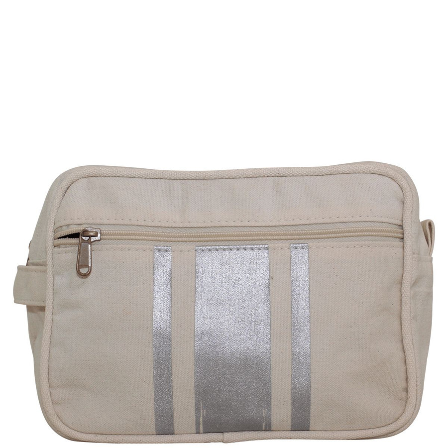Brushed Canvas Travel Kits, Toiletry Bag, Travel Makeup Bag