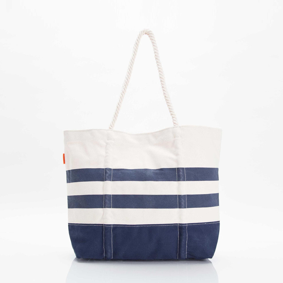 Maritime Tote Bag, Canvas Beach Bag