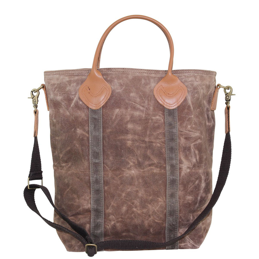 Waxed Canvas Flight Travel Bag, Multifunctional Travel Shoulder Bag
