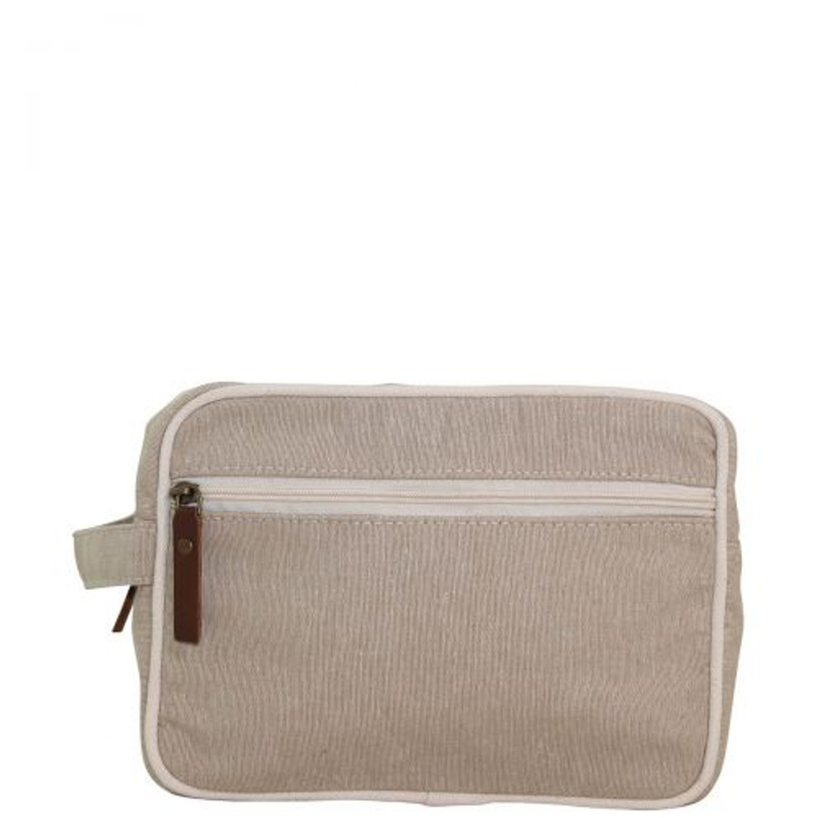 Canvas Travel Kit, Canvas Toiletry Bag