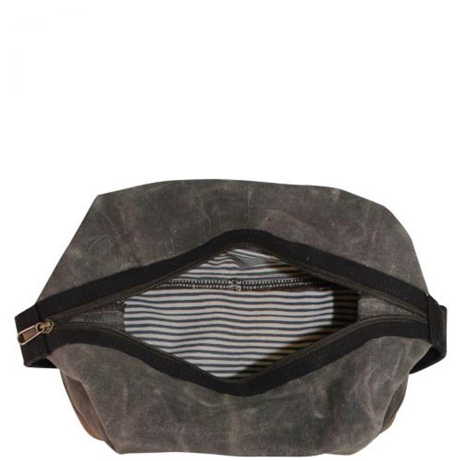 Waxed Canvas Dopp Kit, Men's Toiletry Bag