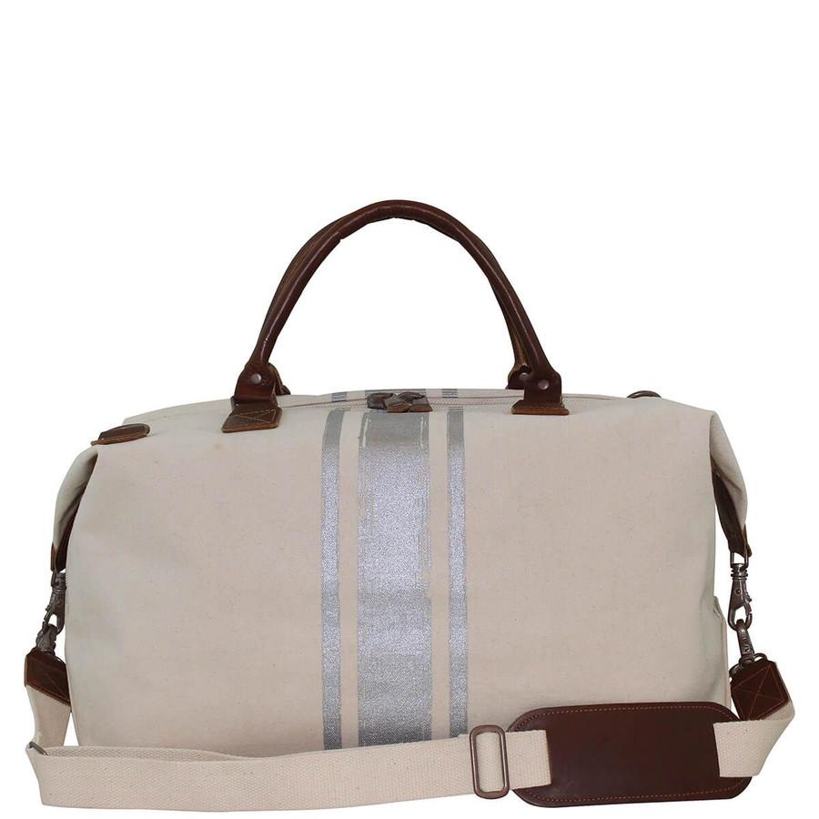 Brushed Canvas Weekender Bag