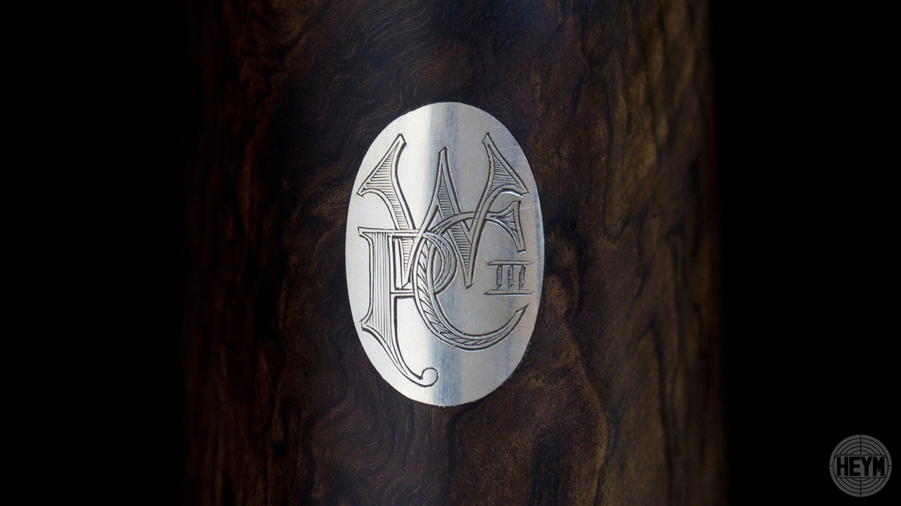 Stock Ovals with hand-engraved monograms or initials are available in Gold or Silver.