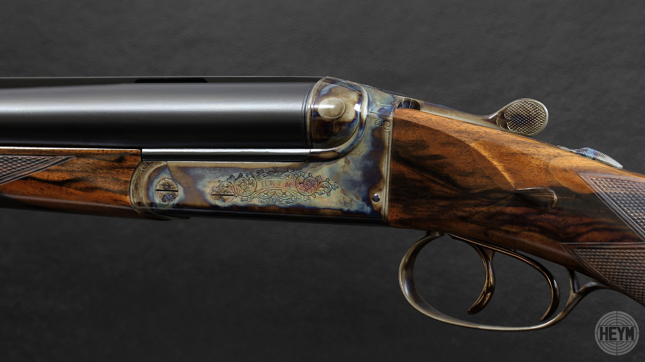 Shown with Case Colors, the Grade 1 pattern is reminiscent of pre-war, British, working rifles.