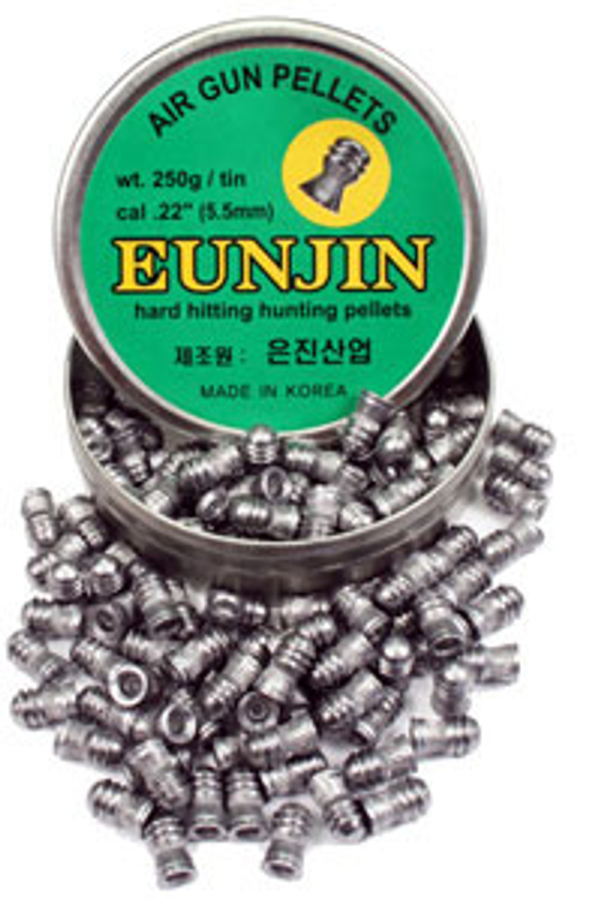 Eunjin Air Rifle Pellets 28gr Cal. .22 (10 TIN BULK BUY)