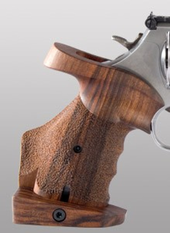 S&W K/L-Frame round butt, adjustable, right, with finger grooves SW033