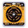 Buy Dewalt DT10624 Extreme Framing Cordless Circular Saw Blade 165mm x 20mm x 24T at Toolstop