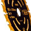 Dewalt DT10624 Extreme Framing Cordless Circular Saw Blade 165mm x 20mm x 24T - 1