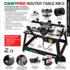 Trend CRTMK3 Craftpro Router Table Mk3 240V - 5