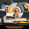 Evolution RAGE3-DB TCT Multipurpose Double Bevel Sliding Mitre Saw 255mm / 10 Inch 110V - 4