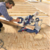 Bosch GCM10SD Double Bevel Slide Mitre Saw 254mm 110V - 1