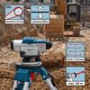 Bosch GOL20D Professional Optical Level - 4