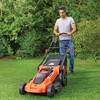 Black + Decker CLMA4820L2-GB 36V Cordless Autosense Lawnmower (2 x 2AH Batteries)  - 2