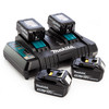 Makita DLM380PF4 36V Cordless li-ion Lawnmower (4 x 3Ah 18V Batteries) - accepts 2 x 18V Batteries - 8