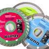 Makita 9557NBZ 115mm Grinder 240V + Mexa10 Triple Pack Diamond Discs - 5