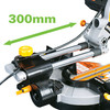 Buy Evolution Rage 3-S300 210mm TCT Multipurpose Sliding Mitre Saw 240V at Toolstop