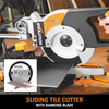 Evolution Rage 3 TCT Multipurpose Sliding Mitre Saw 255mm / 10 Inch 110V - 4