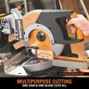 Evolution Rage 3 TCT Multipurpose Sliding Mitre Saw 255mm / 10 Inch 110V - 6