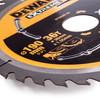 Dewalt DT99563 XR Extreme Runtime Circular Saw Blade 190mm x 30mm x 36T - 1