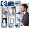 Buy Bosch GLM50C/GMS120 Professional Laser Measure and Detector Twinpack at Toolstop